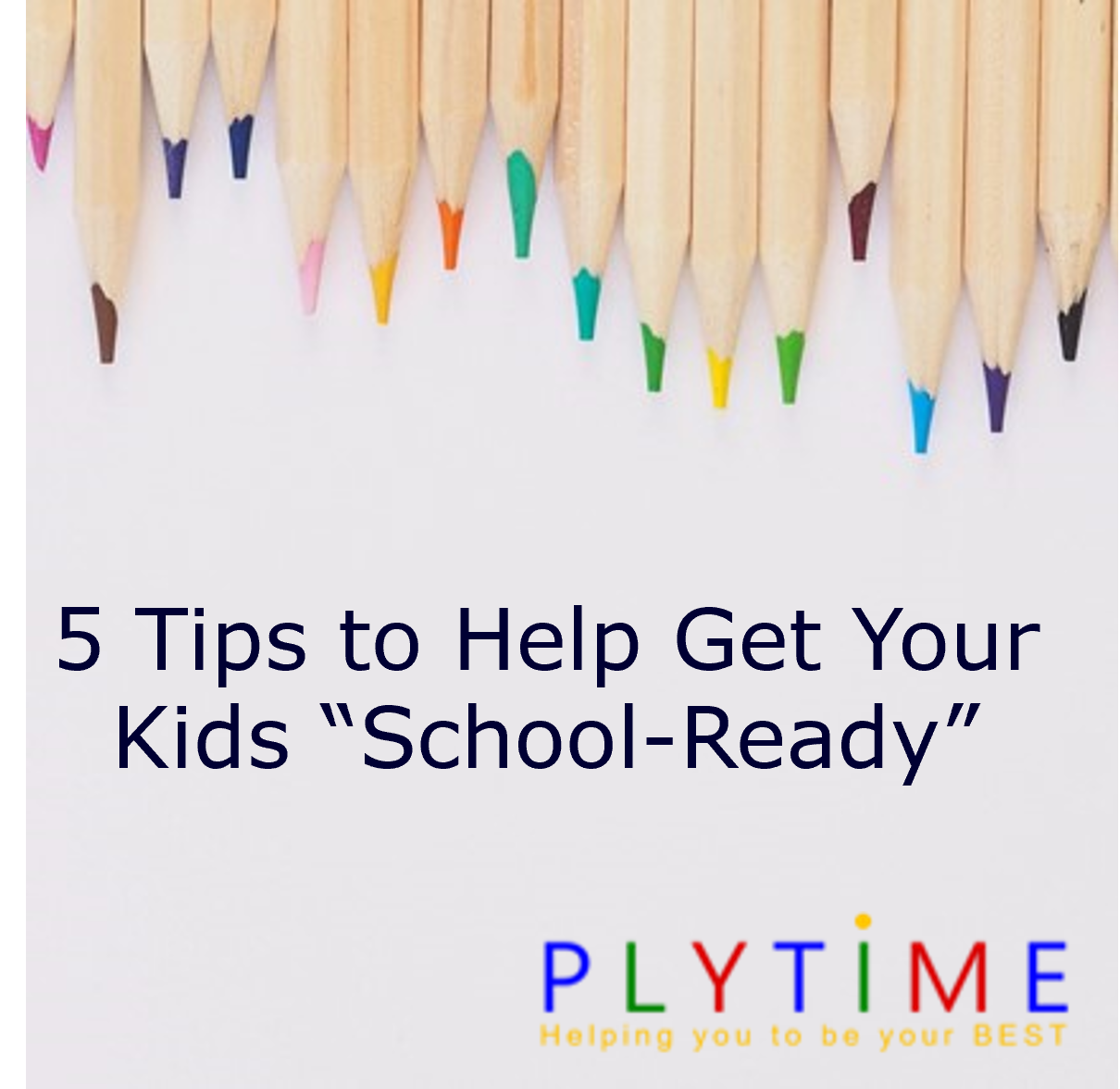"""5 Tips to Help Get Your Kids """"School-Ready"""""""