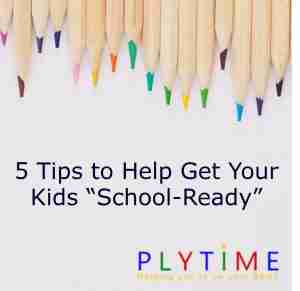 """Read more about the article 5 Tips To Help Get Your Kids """"School Ready"""""""