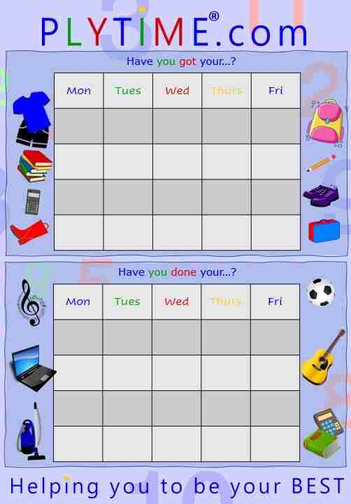 Plytime Learning Routine