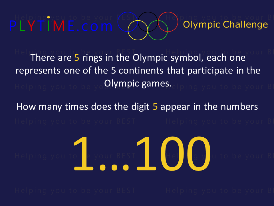 PLYTME Olympic Challenge #5