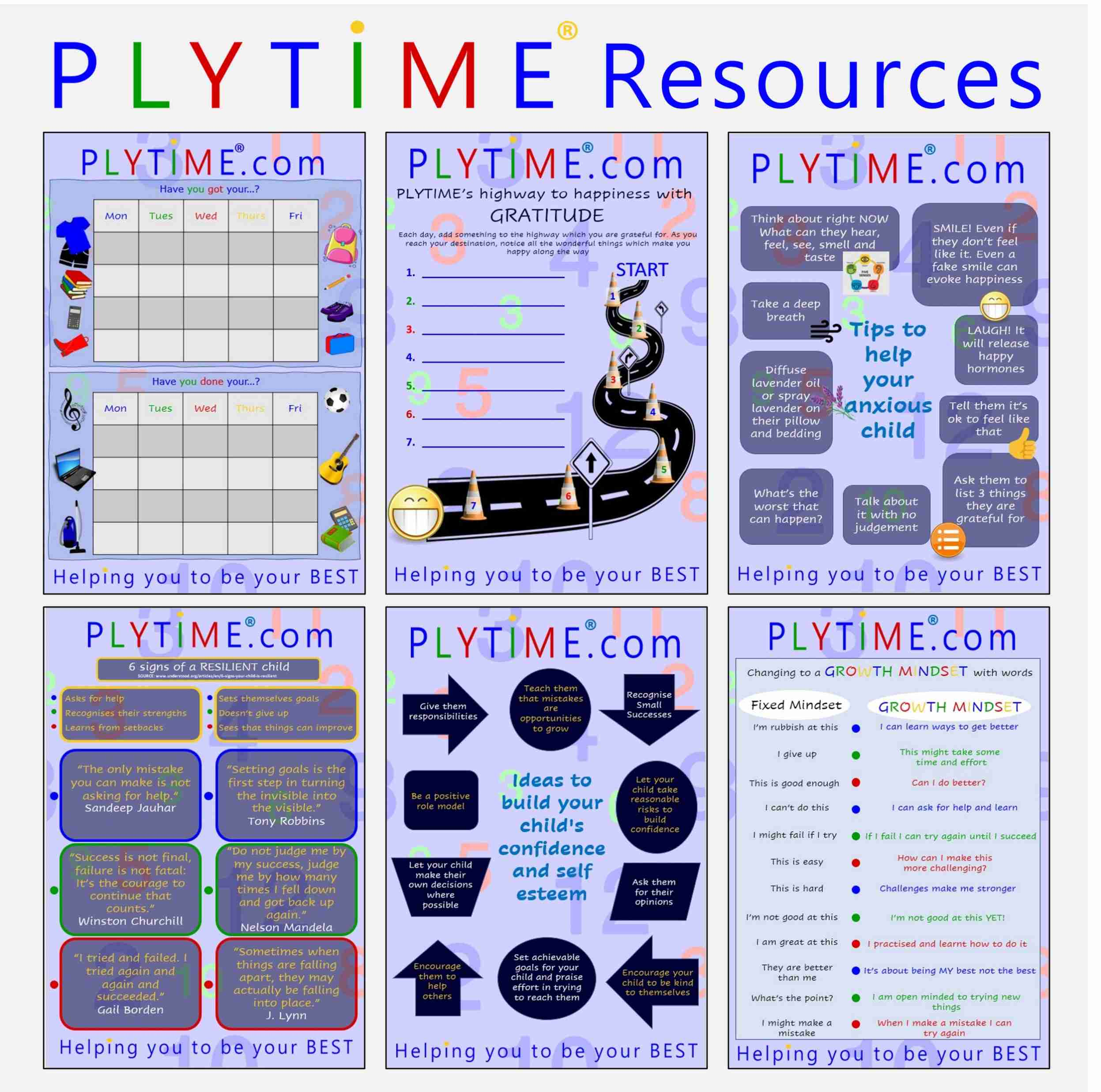 PLYTIME Free Resource