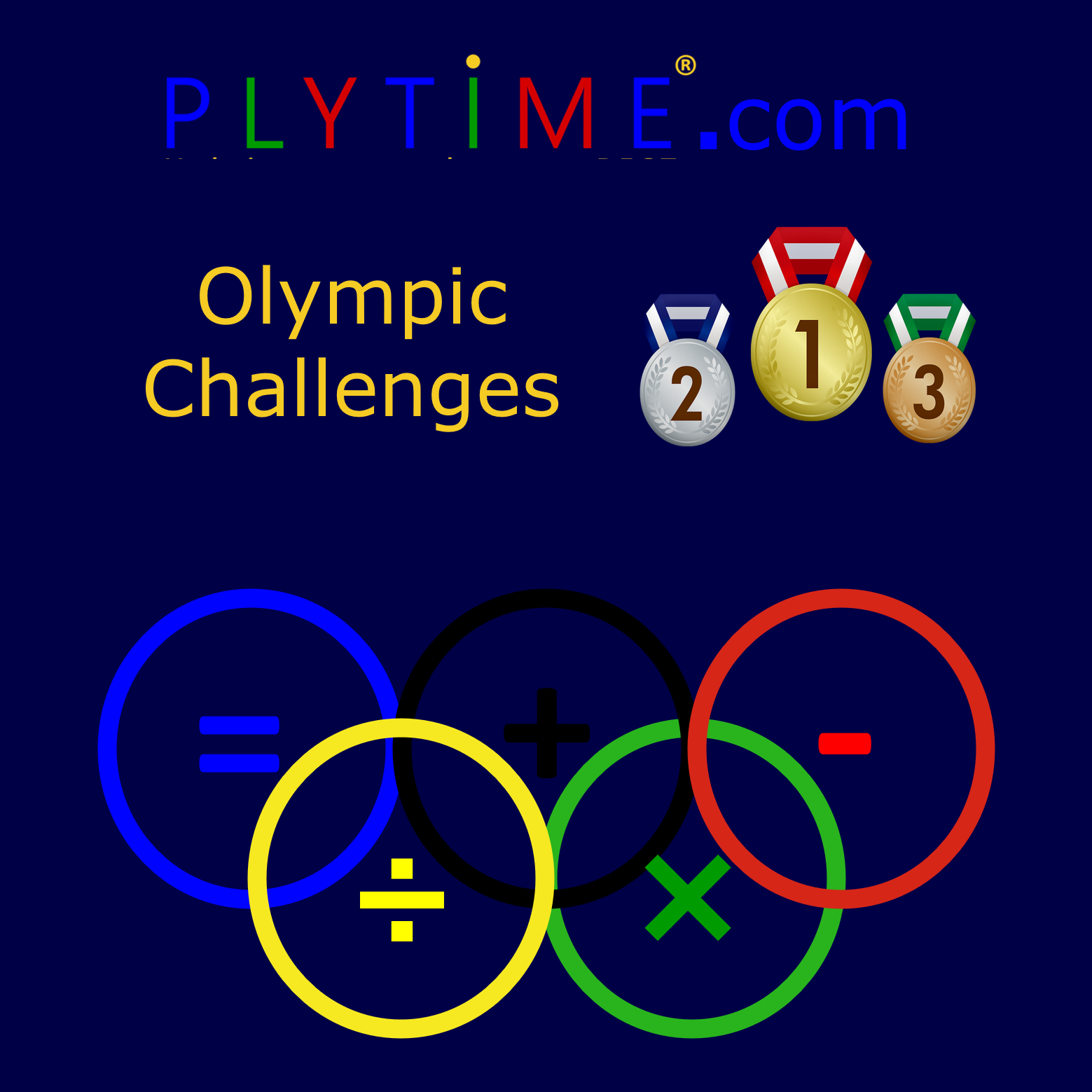17 PLYTIME Olympic Challenges.